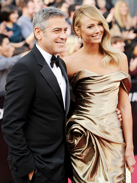 Stacy Keibler, George Clooney, ...