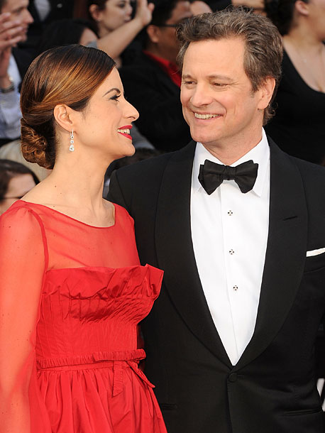 Colin Firth, Oscars 2012