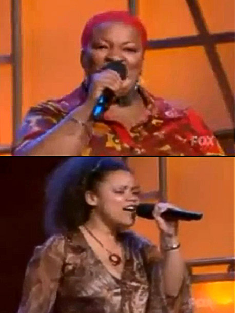 American Idol | It was the season 2 group rounds, but Frenchie and Kim sang as a duo because the other girls in Hollywood were ''apprehensive'' about singing…