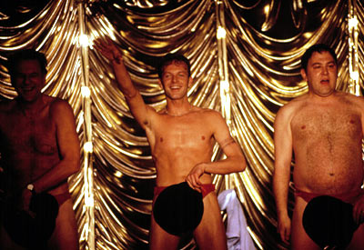 The Full Monty, Mark Addy | Yeah, this movie was funny and even got a Best Picture Oscar nomination. But really, how is it fair that a guy can be chubby…