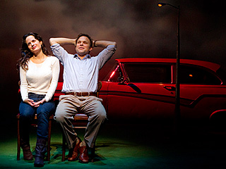 HOW I LEARNED TO DRIVE Elizabeth Reaser and Norbert Leo Butz
