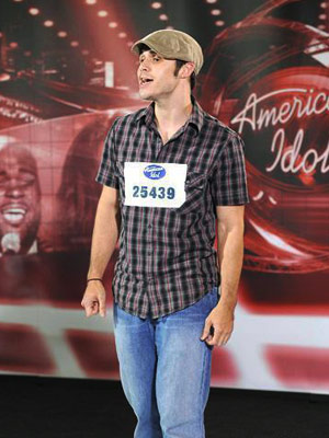 American Idol, Kris Allen | As for the evening's five Golden Ticket winners whom we have not yet discussed, I'd say the most promising were a pair from the blink-and-you'll-miss-'em…