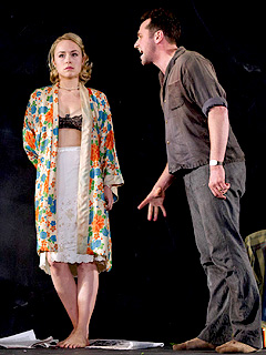 LOOK BACK IN ANGER Sarah Goldberg and Matthew Rhys
