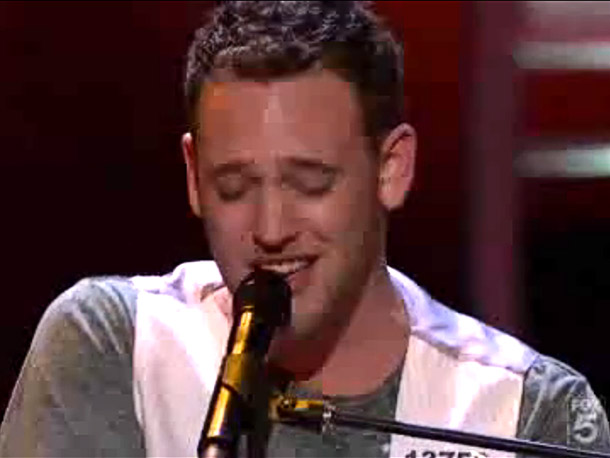 American Idol | Simon Cowell was so impressed with Matt Giraud's initial audition performance of Gavin DeGraw's ''I Don't Want to Be'' that he compared him to another…