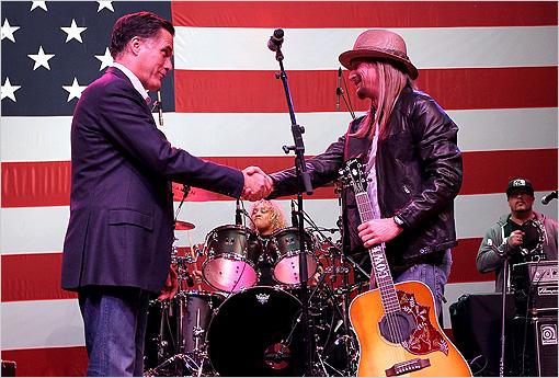 Mitt Romney Kid Rock