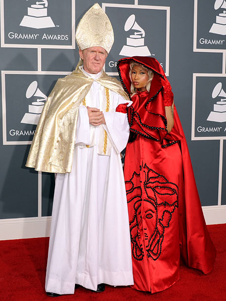 Grammy Awards 2012, Nicki Minaj