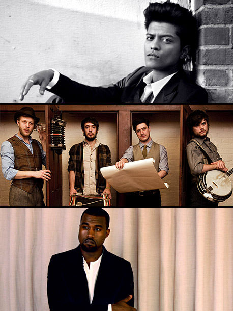 Bruno Mars, Kanye West, ... | ''Grenade,'' Bruno Mars The Hit Songwriter: ''I voted for 'Grenade.' I think it's the best written song of the year. I think 'Rolling in the…