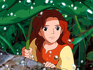 SMALL WONDER Bridgit Mender voices the title character in The Secret World of Arrietty