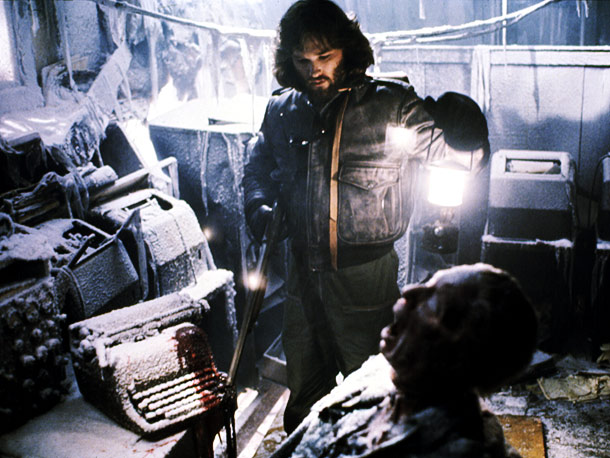 The Thing, Kurt Russell | THE THING (1981), picked by Drew Goddard ''I have so many favorite horror movies but if I had to pick one, I guess I would…
