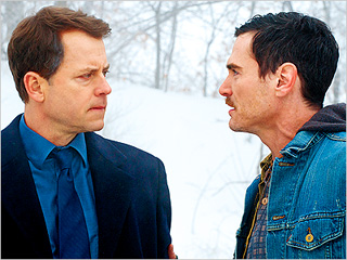 'ICE' MEN Greg Kinnear and Billy Crudup in Thin Ice