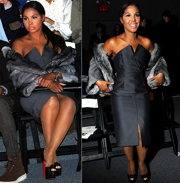 Fashion Week, Toni Braxton | ''I personally think Toni is killing it this Fashion Week. She is beautiful, with amazing hair and makeup. Simple and chic. This shot of her…