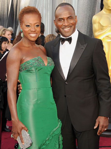 Viola Davis and actor Julius Tennon