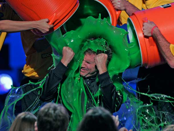 Will Ferrell | This is what happened when gold-medal-winning Olympic soccer player Mia Hamm got the drop on Ferrell.