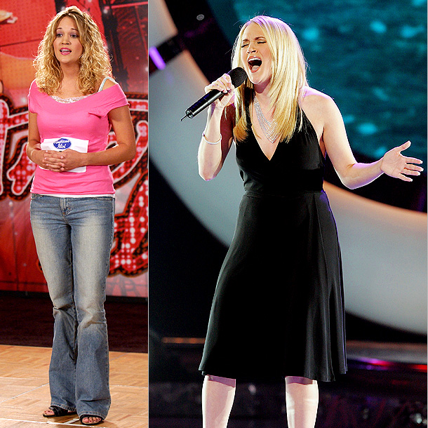 American Idol | Carrie Underwood was 100 percent wholesome milkmaid when she auditioned for Idol in a pink T-shirt and curly blond hair. The former farm girl would…