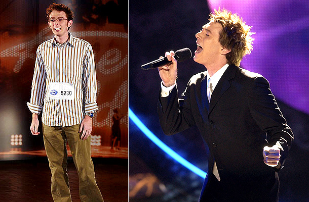 American Idol | ''I'm the American Idol,'' declared Clay Aiken at his initial audition in front of the judges. That pronouncement was hard to believe considering the special-education…