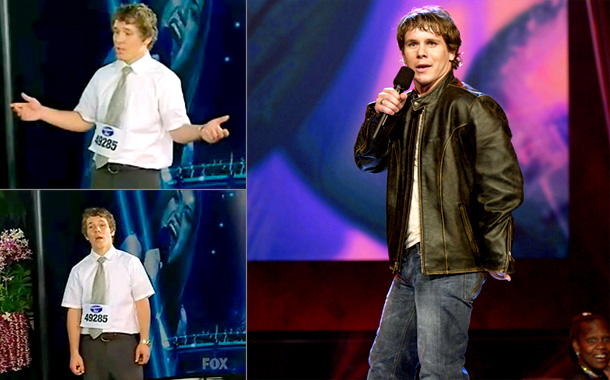 American Idol | Dubbed the Pen Salesman by Simon Cowell when he walked into his Hawaii audition dressed in his Sunday best: a short-sleeved dress shirt and tie.…