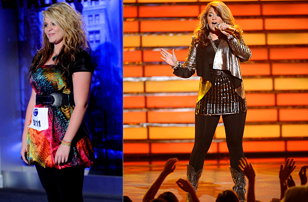 American Idol | Country cutie Lauren Alaina turned into the Amazing Shrinking Teen as she lost 16 pounds during the course of the season. By the time she…