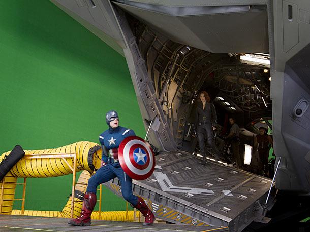 Chris Evans, Marvel's The Avengers