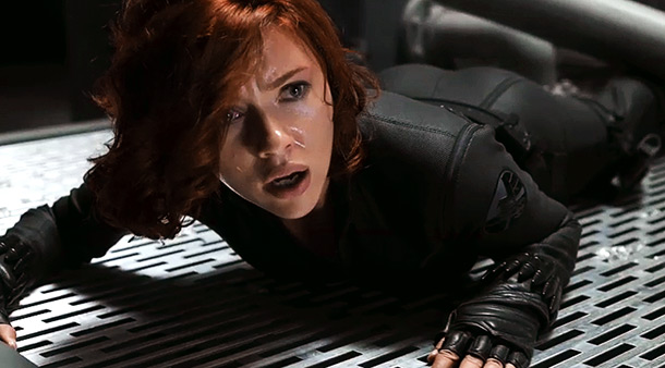 The Avengers | Scarlett Johansson seems to take an awful lot of punishment as Black Widow, who is one of the Avengers who doesn't have any super abilities…
