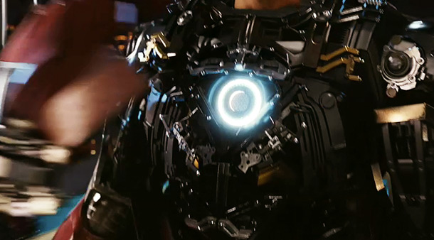 The Avengers | Not only do we get a close look at Iron Man's new Mark 7 armor, but in the sequence where the suit is removed, we…