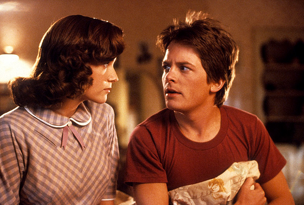The Couple: Marty McFly and Lorraine ( Back To the Future ) The Players: Michael J. Fox and Lea Thompson Creepiness factor: 3 out of…