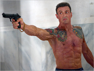 SWEET REVENGE Sylvester Stallone takes on New Orleans in this action flick