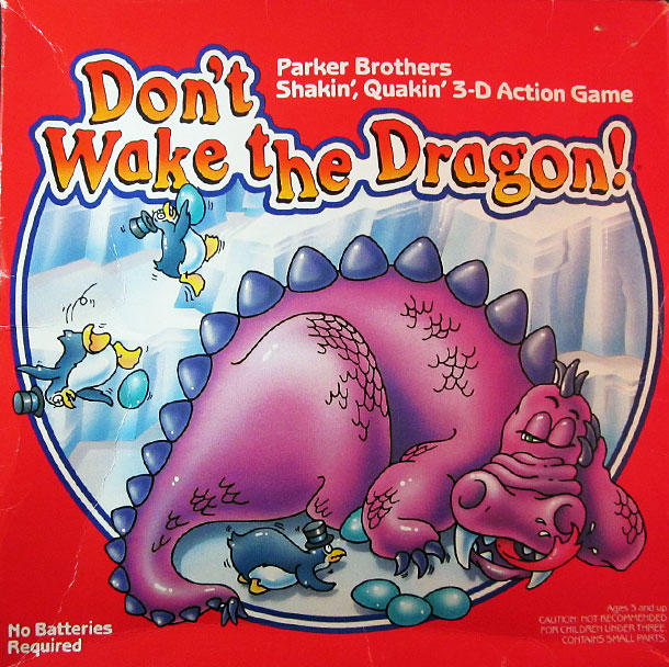 Fearsome Rating: 3 In this Parker Brothers half-classic — an earlier and decidedly less therapy-baiting version of Don't Wake Daddy! — you play as penguins…
