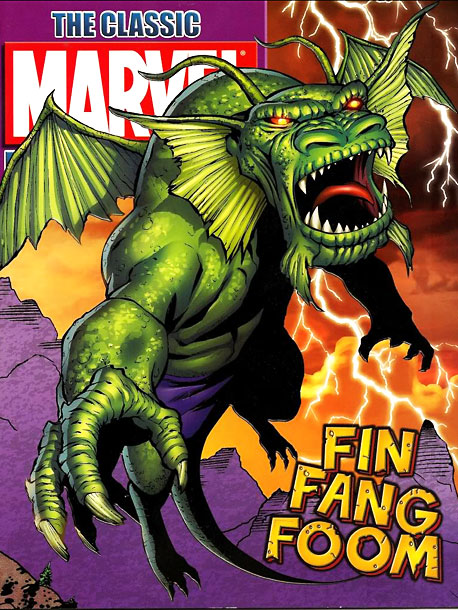 Fearsome Rating: 8 A memorably outlandish creature that perfectly combines Jack Kirby's mythic fantasticality and Stan Lee's jazzy wit. Just look at that alliterative name…