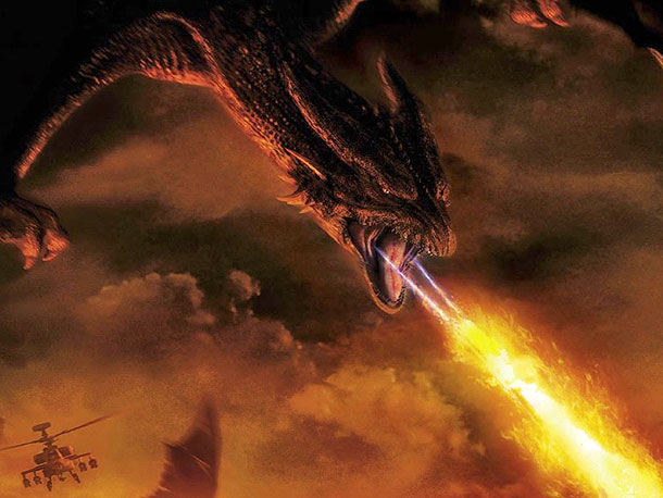 Fearsome Rating: 6 Reign of Fire posits the curious notion that all dragons are female, except for one. And that lone daddy dragon spends most…