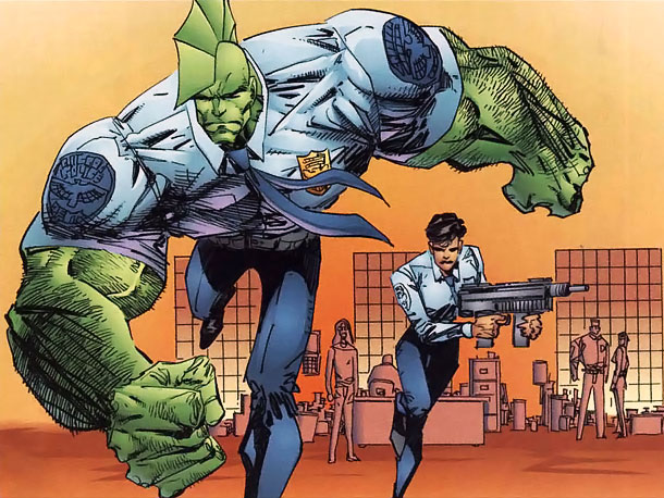 Fearsome Rating: 7 The protagonist of Erik Larsen's long-running experiment in gonzo superheroism isn't technically a dragon. He's a big angry dude with a badass…