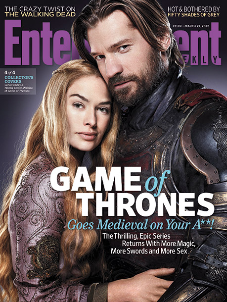 Game of Thrones, Lena Headey | Click to buy all four EW Game of Thrones Collector's Covers now