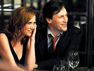 RANDY COUPLE Kristen Wiig and Jon Hamm in Friends with Kids