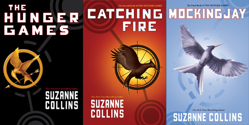 HUNGER GAMES COVERS
