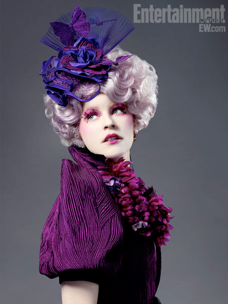 The Hunger Games, Elizabeth Banks | ''My whole thing for the Capitol is that everybody was gonna have these big puffy sleeves,'' says Makovsky. ''Already that's so silly, but you can…