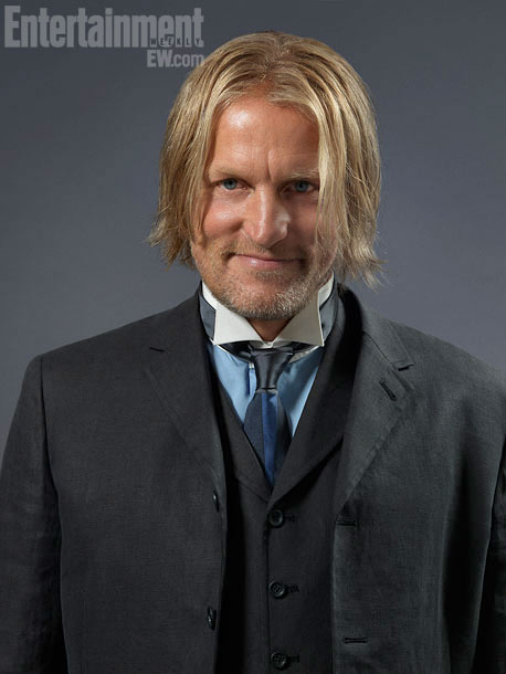 The Hunger Games, Woody Harrelson | ''He had won the game — he had money,'' says Makovsky of Haymitch Abernathy (Woody Harrelson), Katniss' drunken mentor. ''We didn't want him to be…