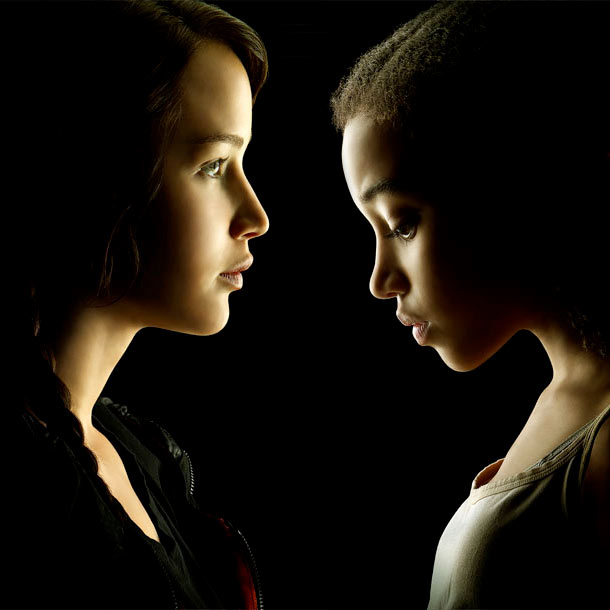 The Hunger Games | What: Katniss and Rue aren't together for very long in the book — their ''alliance'' lasts just about 30 pages — but Collins adds some…