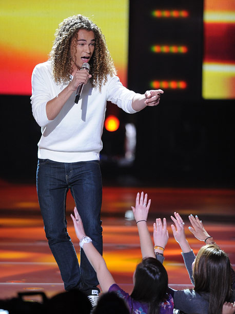 American Idol   Best in Hair, a.k.a. Steven Tyler's 17-year-old spirit animal, might be better off picking a tune that's not overwhelmingly high so his lovely falsetto can…