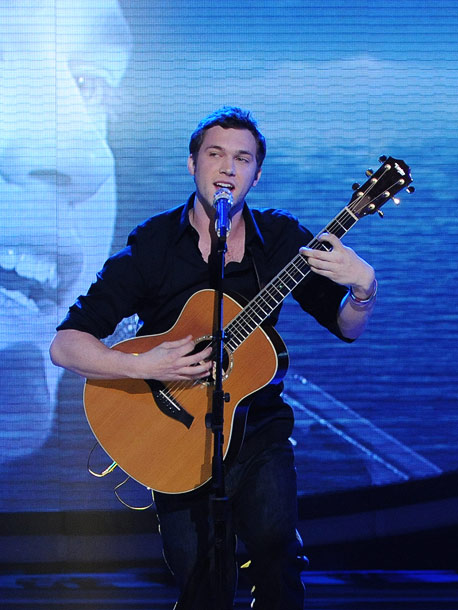 American Idol   I don't really care at this point if he's copying Dave Matthews' style — he's a young kid with his own voice and his own…