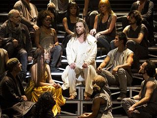 JESUS CHRIST SUPERSTAR Paul Nolan and Chilina Kennedy