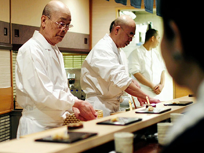 SUSHI SUPREME A master sushi chef works to perfect his skill in Jiro Dreams of Sushi