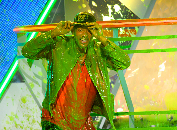 Will Smith, Kids' Choice Awards | The showman masterfully presided over the 25th annual event and had to get in on the sliming action. But it wasn't exactly his first time.…