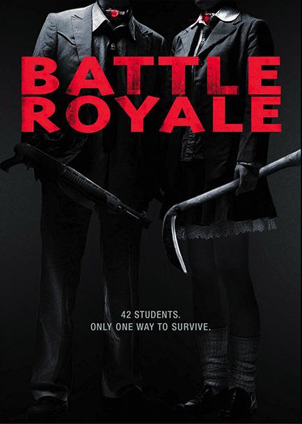The Hunger Games, Battle Royale