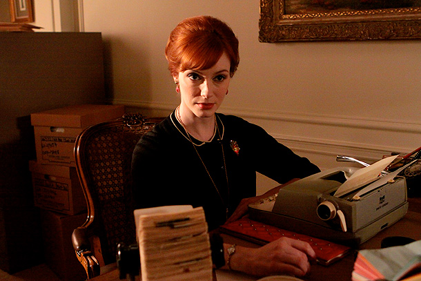 Mad Men, Christina Hendricks | Imagine that you got called into the principal's office. Now imagine that the principal says, ''You've done something so bad — so incredibly perverse, so…