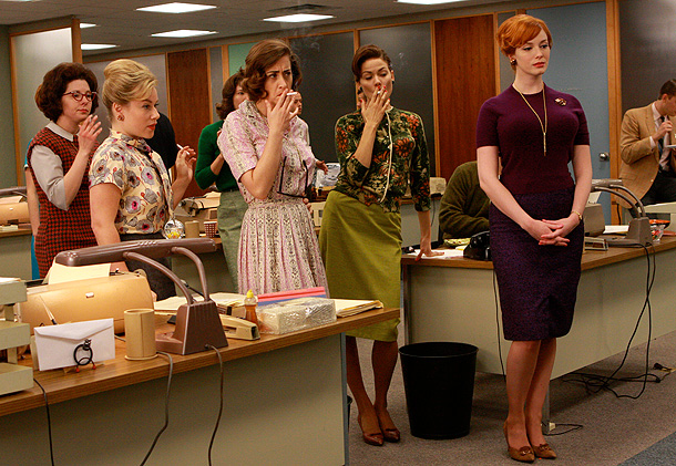 Mad Men, Christina Hendricks | Oh girls. Girls, girls, girls. Girls, girls, girls, girls, girls. I'm sure that when you got up this morning you were thinking to yourself, ''What…
