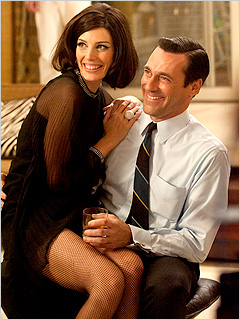 Mad Men Megan Jessica Pare Jon Hamm