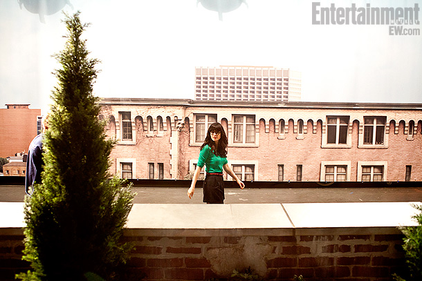 Zooey Deschanel, New Girl | Click to buy Entertainment Weekly issue with New Girl feature