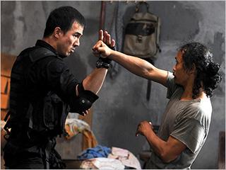 FIGHT OR DIE Joe Taslim and Yayan Ruhian in The Raid: Redemption