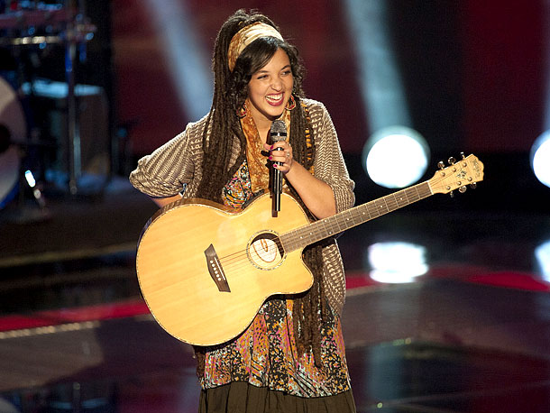 The Voice | How she describes her sound ''I call it a blend of pop, reggae, and soul.'' Background Naia ''grew up in a musical family,'' she says,…