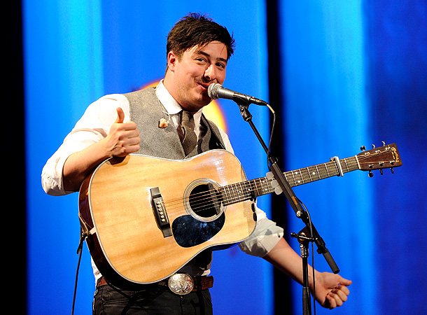 Music, Marcus Mumford, ... | Ages Marcus Mumford, Ben Lovett, and Winston Marshall are 25; Ted Dwane is 27. Hometown London Why we love them Rarely has a band whose…