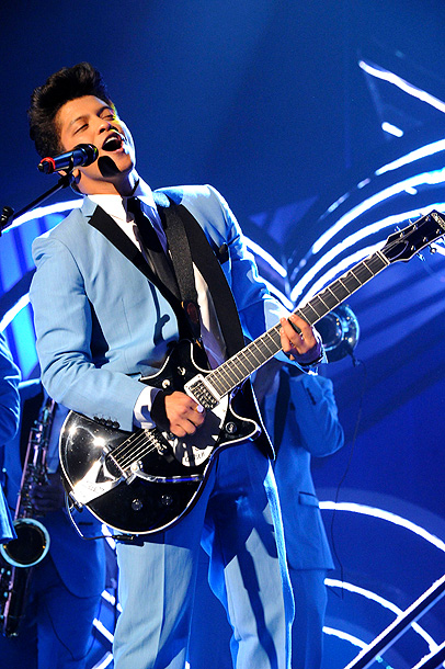 Bruno Mars, Music | Age 26 Hometown Honolulu Why we love him Mars has been on stage since age 3, and it shows: He's an unflaggingly dynamic performer, whether…